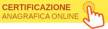 Certificazione anagrafica online